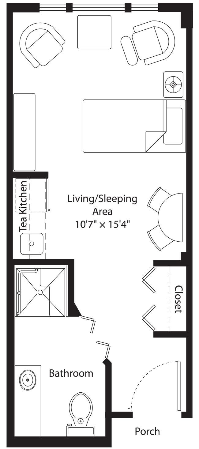 The Violet Floorplan