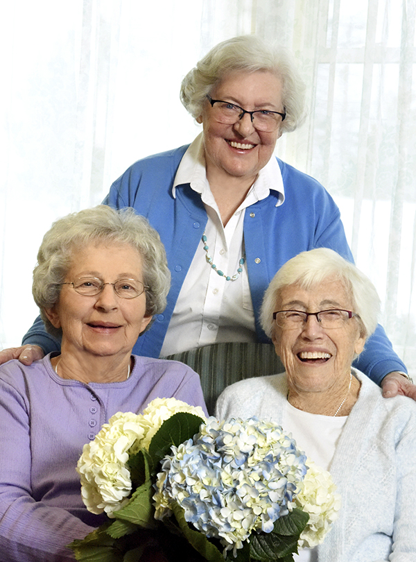 vermont assisted living three ladies